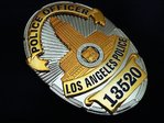 Police Officer Los Angeles Police Department - LAPD Nr. 13520 - USA LAPD Standard Size