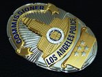 ***** Commissioner ***** Los Angeles Police Dept. - LAPD - USA LAPD Standard Size