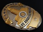 * Commander * Los Angeles Police Department - LAPD - USA LAPD Standard Size