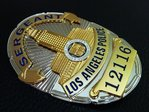 Sergeant Los Angeles Police Department - LAPD Nr. 12116 - USA LAPD Standard Size