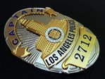 Captain Los Angeles Police Department - LAPD Nr. 2712 - USA LAPD Standard Size