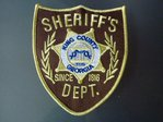 1x The Walking Dead – King County – Sheriff`s Department Patch / Uniform Aufnäher