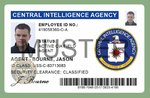 Film ID Card - Central Intelligence Agency - CIA Special Agent