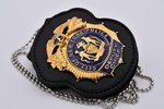 Deputy Chief - City of New York Police - NYPD + Badge Holder for NYPD with belt clip
